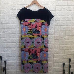 Tracy Negoshian shift one pocket stretchy dress